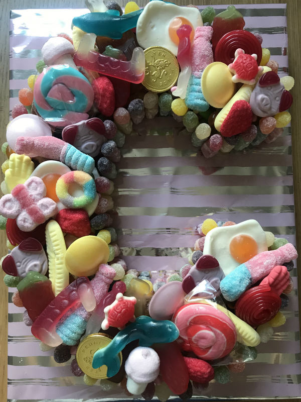 Letter C Sweetcake